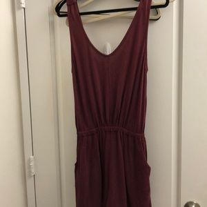 Cotton romper. Red from urban outfitters. SizeM
